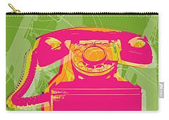 Rotary Phone Carry-all Pouch by Jean luc Comperat