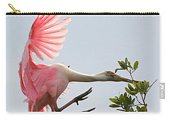 Rough Landing Carry-all Pouch by Carol Groenen