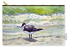 Rough Waters Ahead Carry-all Pouch