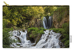 Carry-all Pouch featuring the photograph Roughlock Falls South Dakota by Patti Deters