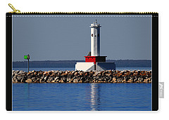 Round Island Passage Lighthouse Carry-all Pouch