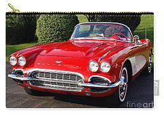 Route 66 - 1961 Corvette Carry-all Pouch