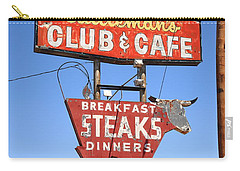 Route 66 - Cattleman's Club And Cafe Carry-all Pouch
