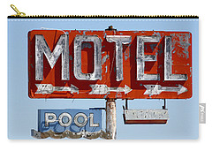 Route 66 Motel Sign Carry-all Pouch