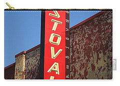 Route 66 - Stovall Theater Carry-all Pouch by Frank Romeo