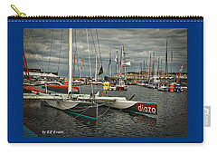 Carry-all Pouch featuring the photograph Route Du Rhum Ready by Elf Evans