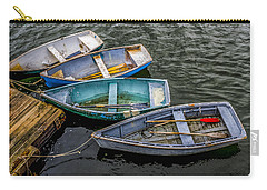 Row Boats At Dock Carry-all Pouch