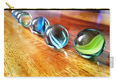 Row Of Marbles Carry-all Pouch
