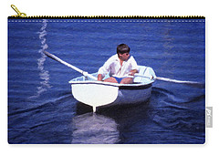 Rower Carry-all Pouch by Richard Farrington