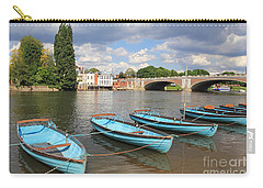Rowing Boats At Hampton Court Carry-all Pouch