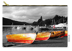 Rowing Boats Ready For Work Carry-all Pouch