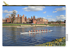 Rowing On The Thames At Hampton Court Carry-all Pouch