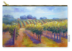 Rows Of Vines Carry-all Pouch