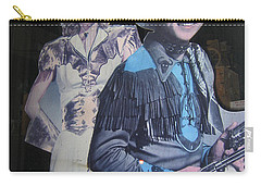 Roy Rogers And Dale Evans #2 Cut-outs Tombstone Arizona 2004 Carry-all Pouch by David Lee Guss