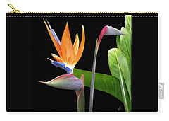 Royal Beauty II - Bird Of Paradise Carry-all Pouch