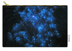 Royal Blue Fireworks Carry-all Pouch