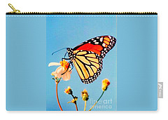 Carry-all Pouch featuring the photograph Mississippi Royal Monarch  by Michael Hoard