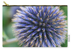 Royal Purple Scottish Thistle Carry-all Pouch