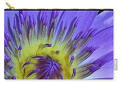 Royal Purple Water Lily #11 Carry-all Pouch
