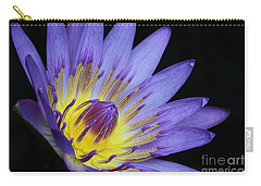 Royal Purple Water Lily #14 Carry-all Pouch
