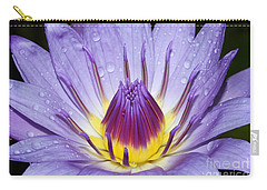Royal Purple Water Lily #3 Carry-all Pouch