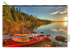 Royale Sunrise Carry-all Pouch by Adam Jewell