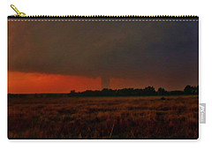 Rozel Tornado On The Horizon Carry-all Pouch by Ed Sweeney