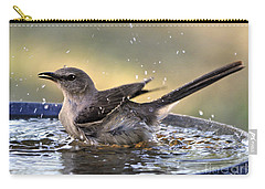 Rub-a-dub-dub Mockingbird Carry-all Pouch