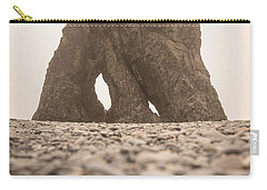 Ruby Beach Triangle Carry-all Pouch