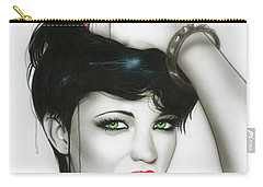 Ruby Rose - ' Ruby ' Carry-all Pouch by Christian Chapman Art