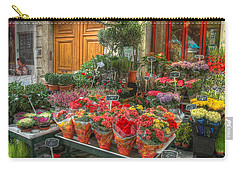 Rue Cler Flower Shop Carry-all Pouch