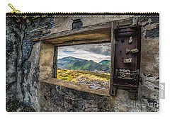 Ruin With A View  Carry-all Pouch by Adrian Evans