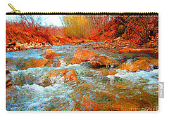 Running Creek 2 By Christopher Shellhammer Carry-all Pouch