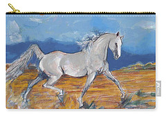 Running Horse M Carry-all Pouch by Mary Armstrong