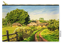 Rural Home Carry-all Pouch by Anthony Mwangi