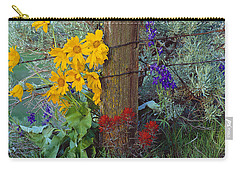 Rural Spring Carry-all Pouch