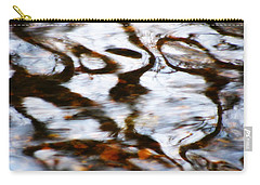 Rushing Water Carry-all Pouch by Deborah  Crew-Johnson