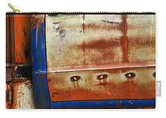 Rust And Blue Carry-all Pouch