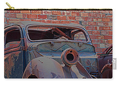 Carry-all Pouch featuring the photograph Rust In Goodland by Lynn Sprowl