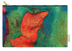 Carry-all Pouch featuring the photograph Rust Is Beautiful by Jerry Gammon