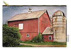 Rustic Barn Carry-all Pouch by Bill Wakeley