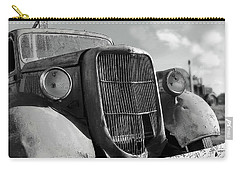 Carry-all Pouch featuring the photograph Rustic Beauty by Micki Findlay