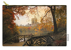 Carry-all Pouch featuring the photograph Rustic City View by Jessica Jenney