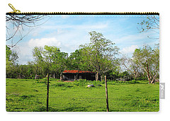 Rustic Land Of Beauty - Rural Texas Carry-all Pouch