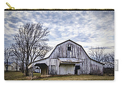 Rustic White Barn Carry-all Pouch by Cricket Hackmann