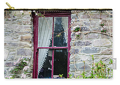 Rustic Window  Carry-all Pouch