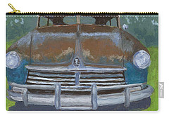 Rusty Hudson Carry-all Pouch