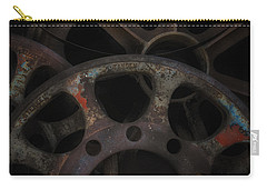 Rusty Iron Gears Carry-all Pouch