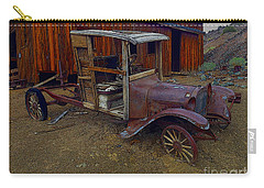 Rusty Old Vintage Car Carry-all Pouch by R Muirhead Art