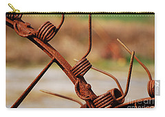Rusty Tines Carry-all Pouch